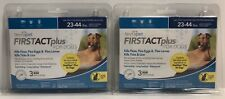 2 tevrapet FirstAct Plus Flea / Tick Topical for Dogs 23-44 lbs - 6 Month Supply