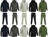 Mens Plain Hooded Sweatshirt | Hoodie Zip Top | Joggers |*Tracksuit