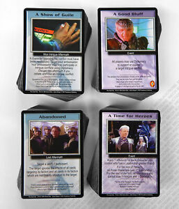 Babylon 5 CCG Great War Complete Set of 397 Cards 100 Rare M/NM Mint/Near Mint