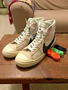 Off-White X Nike Blazer Mid The Ten Size 12