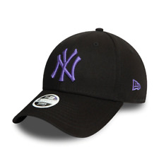 New York Yankees Cap Kappe MLB Baseball New Era 9Forty Damen Cap Woman Lila Logo