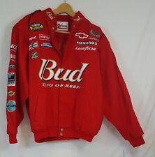 Chase Authentics DALE EARNHARDT JR #8 Nextel Cup Cotton Trill Racing Jacket Sz L