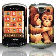 Cute Monkey Design Hard Case Protector Cover For Samsung Brightside U380 New