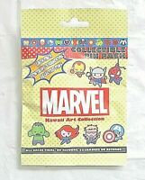 Disney  Parks Pins MARVEL KAWAII ART 5 pin pack Mystery Pack Authentic