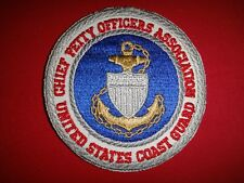 Us Coast Guard Chief Petty Officers Association Patch