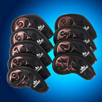 Leather Iron Covers Golf Iron Head Covers for Golf Clubs Pxg Mizuno Taylormade