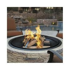 Large Fire Pit Outdoor Fireplace Wood Burning Cast Stone Bowl Yard Patio Decor