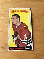 Topps Hockey 1964-65 Doug Robinson Chicago Blackhawks card #84