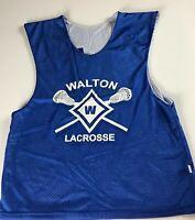 Walton Raiders Lacrosse Jersey Mens SZ S/M Reversible Georgia School Alumni #11