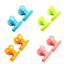 8Pcs Magnetic Metal Clips Colored Magnets Clips Perfect Fridge Magnets Kitc M3L6