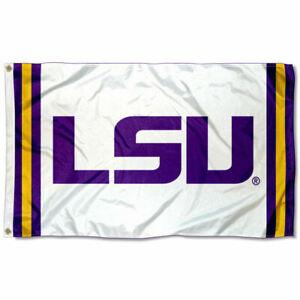 3 x 5 WinCraft NCAA LSU Tigers Flag Multicolor