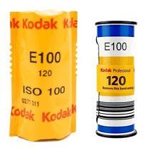 2 Rolls Kodak Professional EKTACHROME E100 Color Reversal 120 Medium Format Film