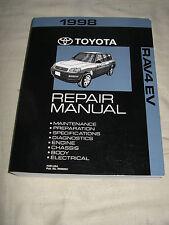 1998 Toyota RAV 4 EV SERVICE MANUAL SHOP REPAIR WORKSHOP ELECTRIC VEHICULE