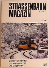 Tranvía Revista Folleto 27 Febrero 1978, S. 1-80 Franckh'sche Editorial Acción √
