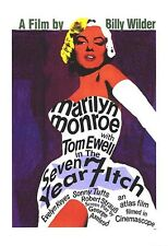 MARILYN MONROE ~ SEVEN YEAR ITCH STYLE C 26x38 MOVIE POSTER Billy Wilder