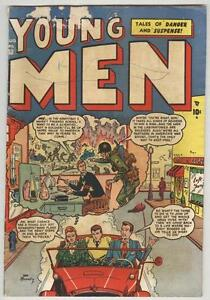 Young Men #10 August 1951 G/VG