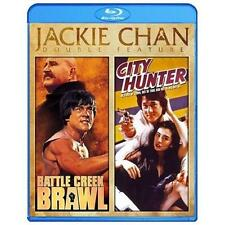 JACKIE CHAN Double Feature - Battle Creek Brawl/City Hunter BLU-RAY