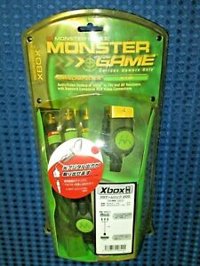 Monster Cable XBOX Game Link 200 XGL200 R-10 Composite Cable Optical Audio Out