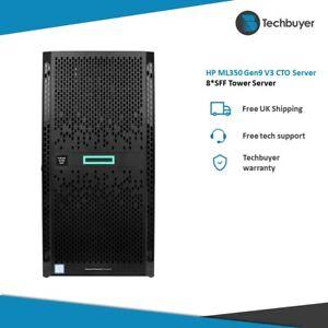 HP ML350 V4 Gen9 G9 8*SFF Configurable Tower Server 2x Xeon V3 64GB RAM 2 HDDs