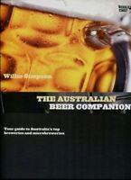 AUSTRALIAN BEER COMPANION Guide to Aust Breweries  Willie Simpson Hardback