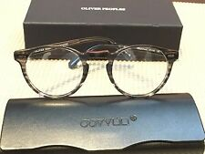 OLIVER PEOPLES Eyeglasses GREGORY PECK OV 5186 47-23 150 gray/clear stripes