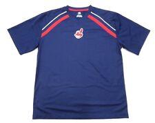 Mlb Genuine Merchandise Cleveland Indians Athletic Shirt Adult Size Large Wahoo