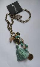 Acrylic Oval Charm Costume Necklaces & Pendants