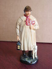 "VINTAGE ROYAL DOULTON FIGURINE THE SHEPHERD HN 1945-1975 BY HARRY FENTON 9"" TALL"