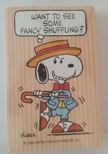 Vintage Unused Hallmark Peanuts Snoopy Dancing Playing Cards