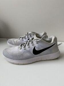 Nike Free RN Women's Running Trainers, Light Grey, Size US 7