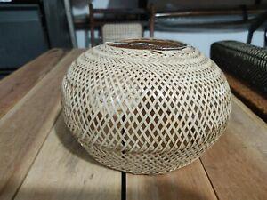 CANE LAMP SHADE Natural Handmade Rattan Lamp Shade