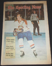 April 3, 1971 The Sporting News YVAN COURNOYER  - Montreal Canadiens