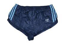 Adidas vintage Sprinter Shorts Gr. M Sporthose 80s shiny 80er blau kurz FS3