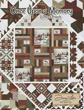 Once Upon A Memory~21 Projects~QUILT PATTERNS BOOK~by Doug Leko-Antler Design
