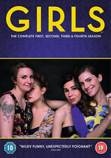 Girls: The Complete First, Second, Third & Fourth Season DVD Box Set NEW