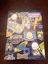 Sanrio Pochacco Notepad With 16 Stickers Vintage 1997 Rare