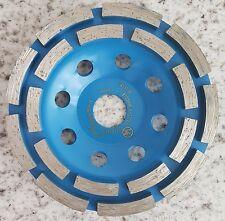 10 x Diamant-Doppel- Schleiftopf Schleifteller 125 mm -Neu- Beton Granit Abrasiv