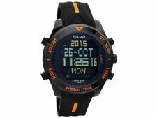 Pulsar Mens Digital Watch With Alarm And Chronograph PQ2037X1