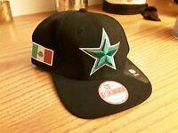 Dallas Cowboys New Era 9Fifty Snapback Original fit Mexico Green Star, Black NFL