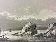 Pointe et fort de Bertheaume Brest première moitié XIXe Finistère