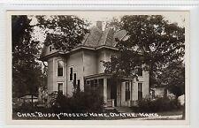 """CHAS. """"BUDDY"""" ROGERS' HOME, OLATHE: Kansas USA postcard (C11965)"""