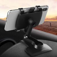 Car SUV Interior Dashboard Rearview Mirror GPS Navigation Mobile Phone Holder
