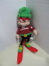 2001 LUCKY CHARMS GENERAL MILLS OLYMPIC ROOTS CANADA PLUSH DOLL MASCOT