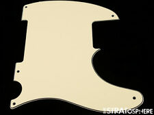 *NEW Cream Esquire PICKGUARD for Fender USA Vintage Telecaster Tele 3 Ply 5 Hole