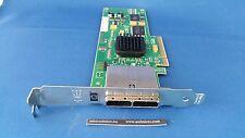 HP LSI 489103-001 488901-001 SAS3801E-HP DUAL PORT EXT SAS PCIe F/H £24+VAT