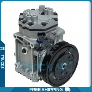 New A/C Compressor for Freightliner MT35 1997 to 2009 - OE# ES210L25337C UQ