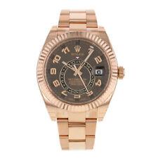 Rolex Sky-Dweller 326935 Ch 18K Everose Oro Reloj Automático para Hombres