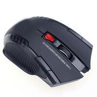 Nouveau 2.4GHz USB Wireless Gaming Mouse Pro Gamer pour PC portable de bureau GQ