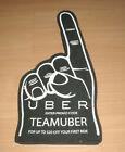 "Uber Advertisement Merchandise Taxi Service 16 1/2"" Foam Finger Promo Code"