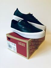 Vans Authentic Women's 6.5 Shoes Black Leather Decon Skate New - Free Shipping!